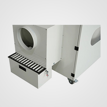 How is the laser cutting machine Fume Extractor effect?