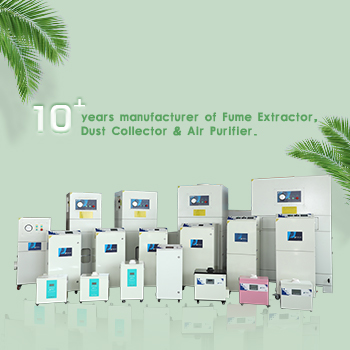Covering the field of laser processing, Pure-Air laser marking smoke purifier!