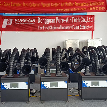 Pure-Air Grinding dust collector help to purify the smoke and dust