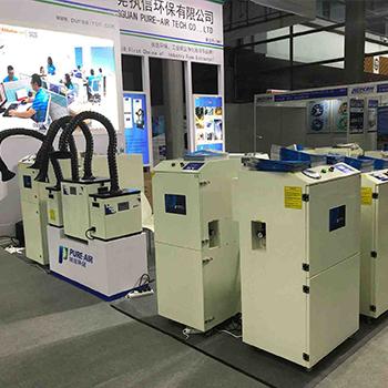 Pure-Air industry machine optional smoke evacuator both for co2 laser machine&fiber laser machine.