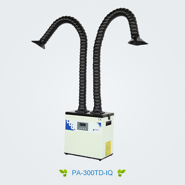 Welding fume purifier, laser fume purifier, PURE-AIR solves workshop smoke and dust pollution!