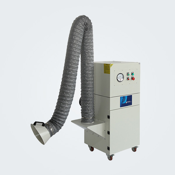 Gas shielded/argon arc welding, laser welding fume extractor