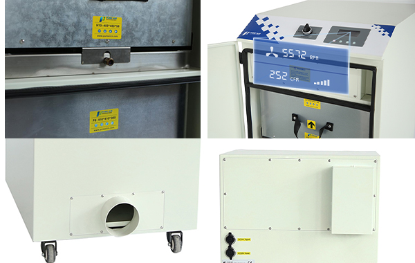 fume extractor for sublimation digital printing