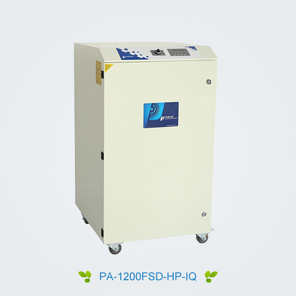 Sublimation digital printing fume extractor