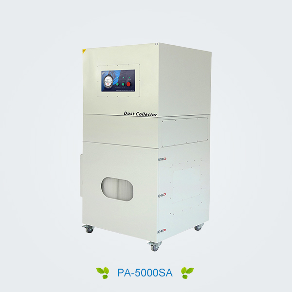 Metal laser cutting/cladding/hardening dust collector (Automatic