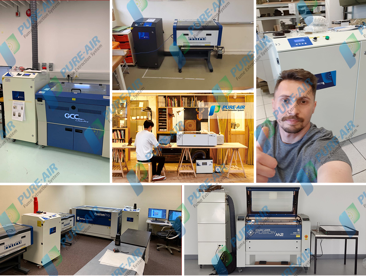 Laser Marking & Laser cleaning Fume Extractor( Basic Version) supplier