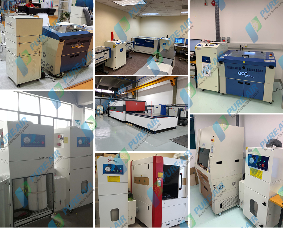 Pure-air Laser Marking & Laser cleaning Fume Extractor( Basic Version)
